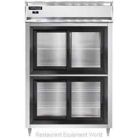 Continental Refrigerator D2RNSASGDHD Refrigerator, Reach-In