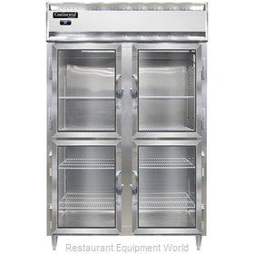 Continental Refrigerator D2RNSSGDHD Refrigerator, Reach-In