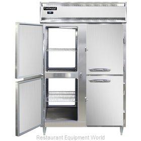 Continental Refrigerator D2RNSSPTHD Refrigerator, Pass-Thru