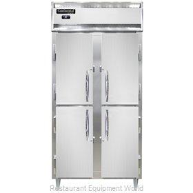 Continental Refrigerator D2RSENHD Refrigerator, Reach-In