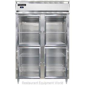 Continental Refrigerator D2RSNSAGDHD Refrigerator, Reach-In