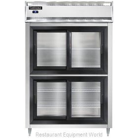 Continental Refrigerator D2RSNSASGDHD Refrigerator, Reach-In