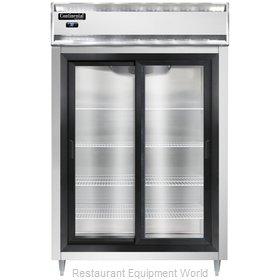 Continental Refrigerator D2RSNSGD Refrigerator, Reach-In
