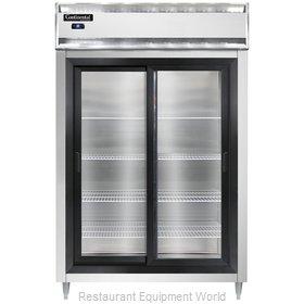 Continental Refrigerator D2RSNSSSGD Refrigerator, Reach-In