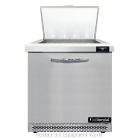Continental Refrigerator D32N12M-FB Refrigerated Counter, Mega Top Sandwich / Sa