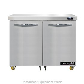 Continental Refrigerator D36N-U Refrigerator, Undercounter, Reach-In