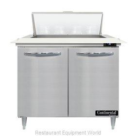 Continental Refrigerator D36N8C Refrigerated Counter, Sandwich / Salad Unit