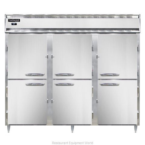 Continental Refrigerator D3RENSSHD Refrigerator, Reach-In