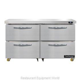 Continental Refrigerator D48N-U-D Refrigerator, Undercounter, Reach-In