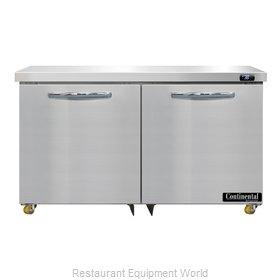 Continental Refrigerator D48N-U Refrigerator, Undercounter, Reach-In
