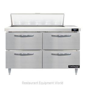 Continental Refrigerator D48N10-D Refrigerated Counter, Sandwich / Salad Unit