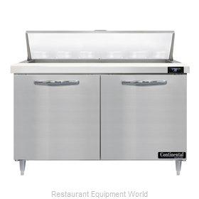 Continental Refrigerator D48N12 Refrigerated Counter, Sandwich / Salad Unit