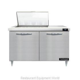 Continental Refrigerator D48N12M Refrigerated Counter, Mega Top Sandwich / Salad