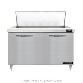 Continental Refrigerator D48N18M Refrigerated Counter, Mega Top Sandwich / Salad
