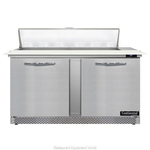 Continental Refrigerator D60N12C-FB Refrigerated Counter, Sandwich / Salad Unit