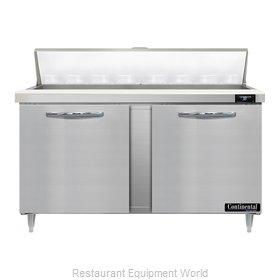 Continental Refrigerator D60N16 Refrigerated Counter, Sandwich / Salad Unit