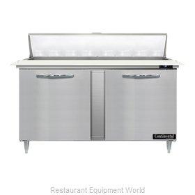 Continental Refrigerator D60N16C Refrigerated Counter, Sandwich / Salad Unit