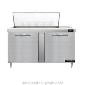 Continental Refrigerator D60N18M Refrigerated Counter, Mega Top Sandwich / Salad