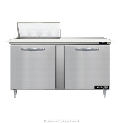 Continental Refrigerator D60N8C Refrigerated Counter, Sandwich / Salad Unit