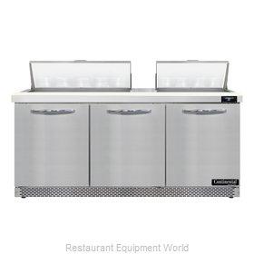 Continental Refrigerator D72N18-FB Refrigerated Counter, Sandwich / Salad Unit