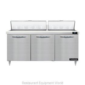 Continental Refrigerator D72N18 Refrigerated Counter, Sandwich / Salad Unit
