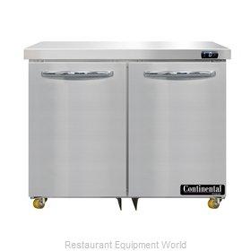 Continental Refrigerator DF36N-U Freezer, Undercounter, Reach-In