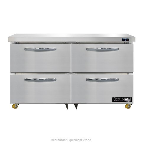 Continental Refrigerator DF48N-U-D Freezer, Undercounter, Reach-In