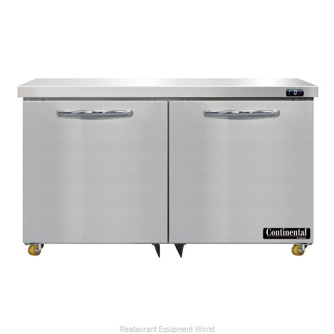 Continental Refrigerator DF48N-U Freezer, Undercounter, Reach-In