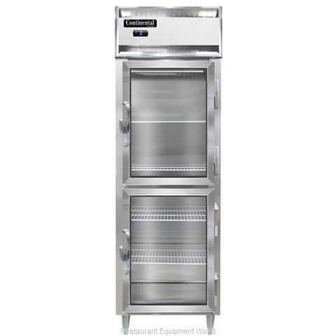 Continental Refrigerator DL1F-GD-HD Freezer, Reach-In