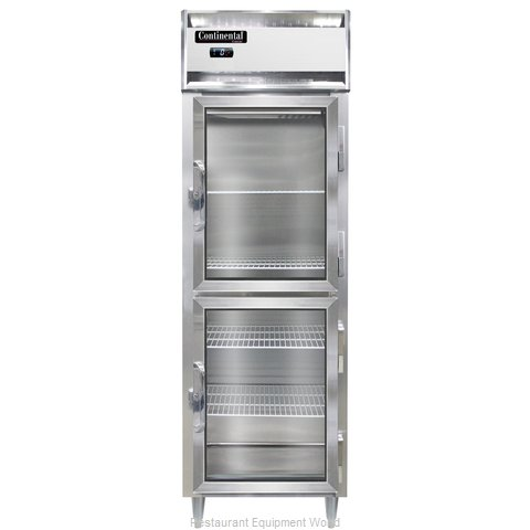Continental Refrigerator DL1F-SA-GD-HD Freezer, Reach-In