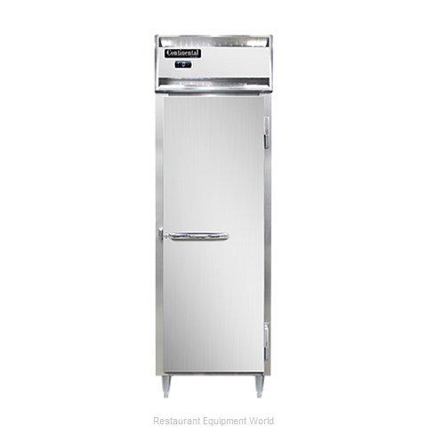 Continental Refrigerator DL1F-SA-PT Freezer, Pass-Thru