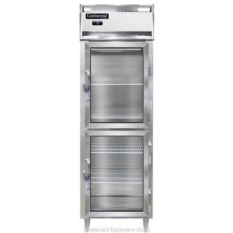 Continental Refrigerator DL1F-SS-GD-HD Freezer, Reach-In