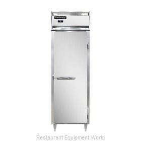 Continental Refrigerator DL1F-SS-PT Freezer, Pass-Thru