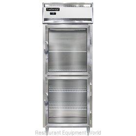 Continental Refrigerator DL1FE-GD-HD Freezer, Reach-In