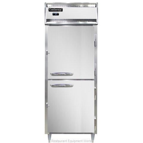 Continental Refrigerator DL1FE-HD Freezer, Reach-In