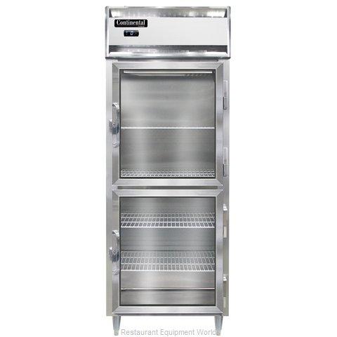 Continental Refrigerator DL1FE-SA-GD-HD Freezer, Reach-In