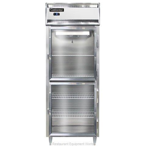 Continental Refrigerator DL1FES-GD-HD Freezer, Reach-In
