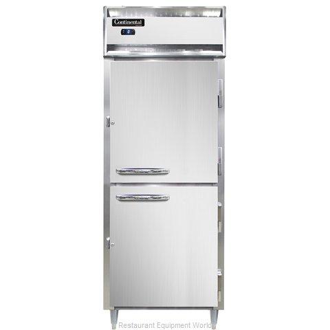 Continental Refrigerator DL1FES-SS-HD Freezer, Reach-In