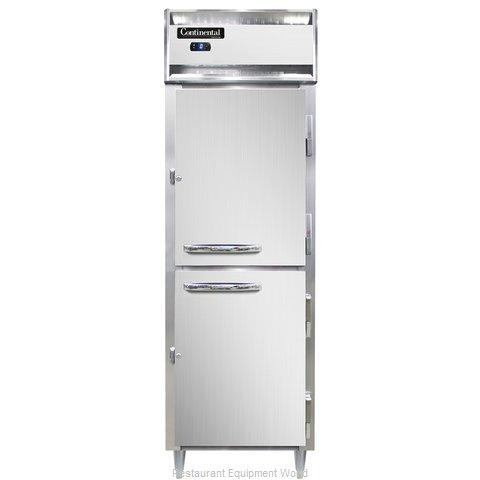 Continental Refrigerator DL1FS-SS-HD Freezer, Reach-In
