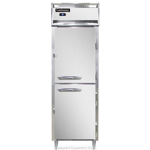 Continental Refrigerator DL1R-SS-PT-HD Refrigerator, Pass-Thru