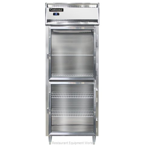 Continental Refrigerator DL1RE-GD-HD Refrigerator, Reach-In (Magnified)