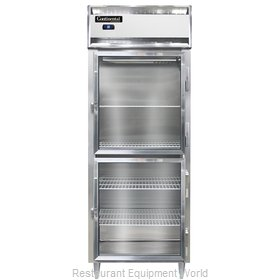 Continental Refrigerator DL1RE-SA-GD-HD Refrigerator, Reach-In