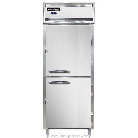 Continental Refrigerator DL1RE-SS-PT-HD Refrigerator, Pass-Thru