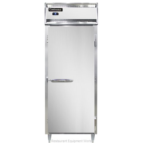 Continental Refrigerator DL1RE-SS-PT Refrigerator, Pass-Thru