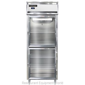 Continental Refrigerator DL1RES-SA-GD-HD Refrigerator, Reach-In