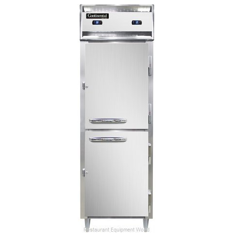 Continental Refrigerator DL1RF-SA-HD Refrigerator Freezer, Reach-In