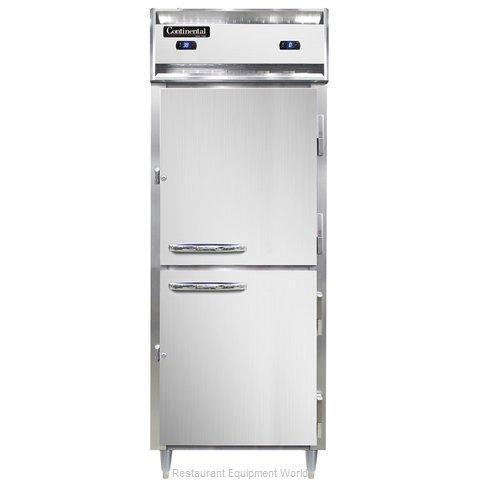Continental Refrigerator DL1RFE-SA-HD Refrigerator Freezer, Reach-In