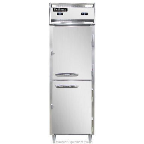 Continental Refrigerator DL1RFS-HD Refrigerator Freezer, Reach-In