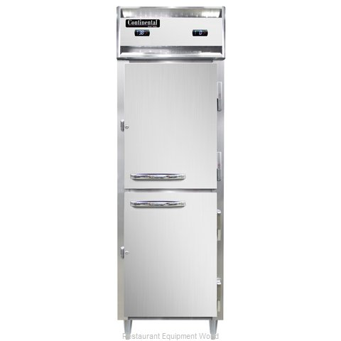 Continental Refrigerator DL1RFS-SA-HD Refrigerator Freezer, Reach-In