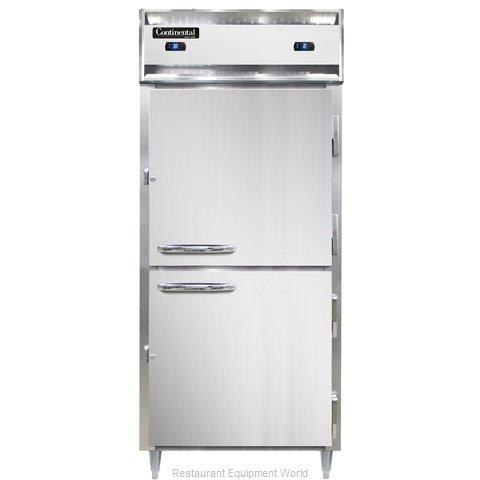 Continental Refrigerator DL1RFXS-HD Refrigerator Freezer, Reach-In